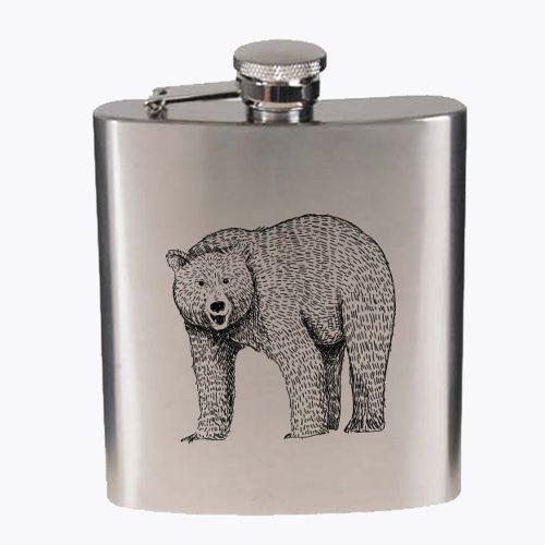 gravirana prisrčnica - Medved - Unikatno darilo