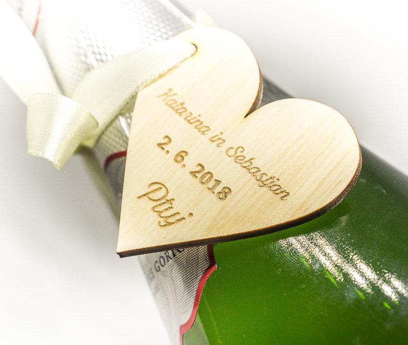 gravirani poročni srčki