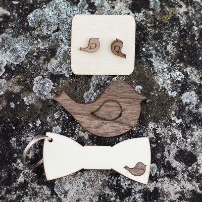 leseni poročni darilni paket